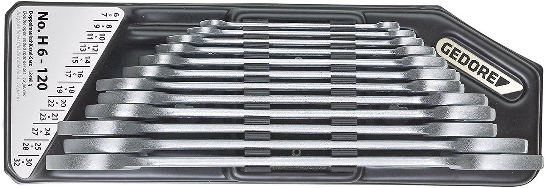 HAZET Doppelmaulschlüssel 14x15 mm DIN 3110
