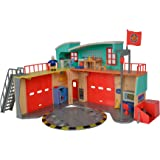 Unbekannt Simba 109258282–Sam el bombero Estación de bomberos rígida con figura
