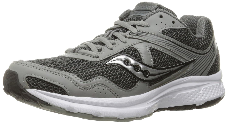 Saucony Men's Cohesion 10 Running Shoe B005B6LJK8 7 W US Grey/Silver