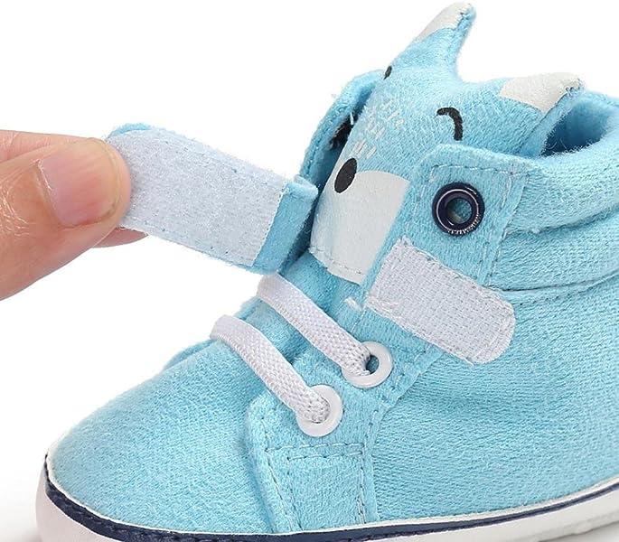 21fce113218f0 Chaussures Premiers Pas Bébé Garçon Fille Souples Sneaker Hiver antidérapant