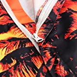 79768037ba47 Leapparel Mens Coconut Tree Graphic Rompers Funny 3D Cartoon Jumpsuits 90s  Personalized Clothes Overalls Shorts Cool Pants XXL