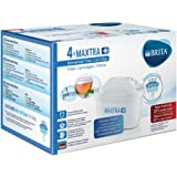 BRITA MAXTRA+ Water Filter Cartridges - Pack of 4 (EU Version)