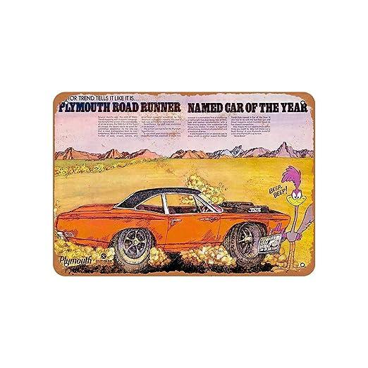 Fhdang Decor 1969 - Cartel de Aluminio con diseño Retro de ...