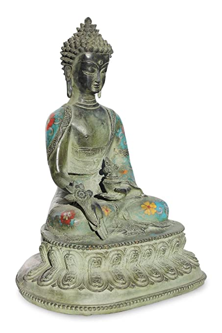 Asien Lifestyle amazon com asien lifestyle healing buddah figure bronze buddha