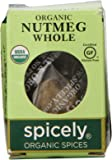 Spicely Organic Nutmeg Whole - Compact