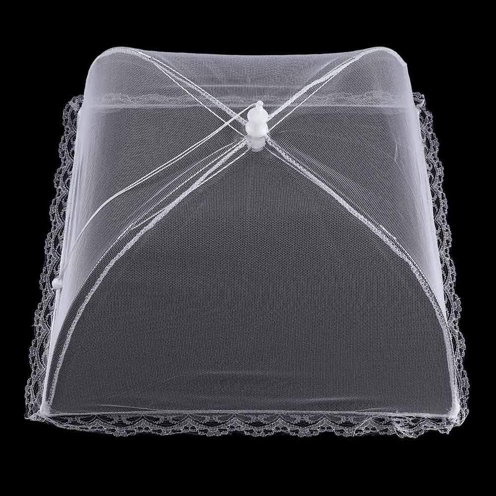 SEADEAR Pop-Up Mesh Food Covers Tent Umbrella, Foldable and Washable Reusable Screen Net Tent for Outdoors Parties Picnics BBQs