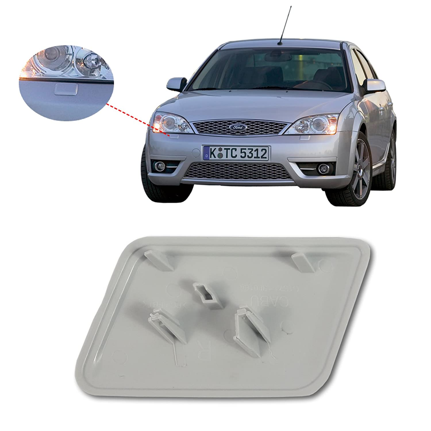 Headlight Washer Jet Cap 1S7113L019AE Left for Ford Mondeo MK3