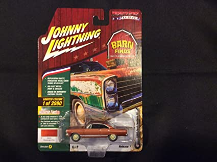 1//64 JOHNNY LIGHTNING BARN FINDS 1966 FORD FAIRLANE GT EMBERGLO POLY