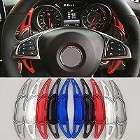 NCUIXZH Steering Wheel Shift Paddles ,for Mercedes-Benz GLC GLA AMG MB A35 A45 GLS63 CLA45 GLE63 C43 2016+ Shifter…