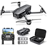 Holy Stone HS720 Foldable GPS Drone with 4K UHD Camera for Adults, Quadcopter with Brushless Motor, Auto Return Home, Follow