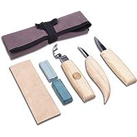 SAKUUMI - Juego de 6 cuchillos de madera