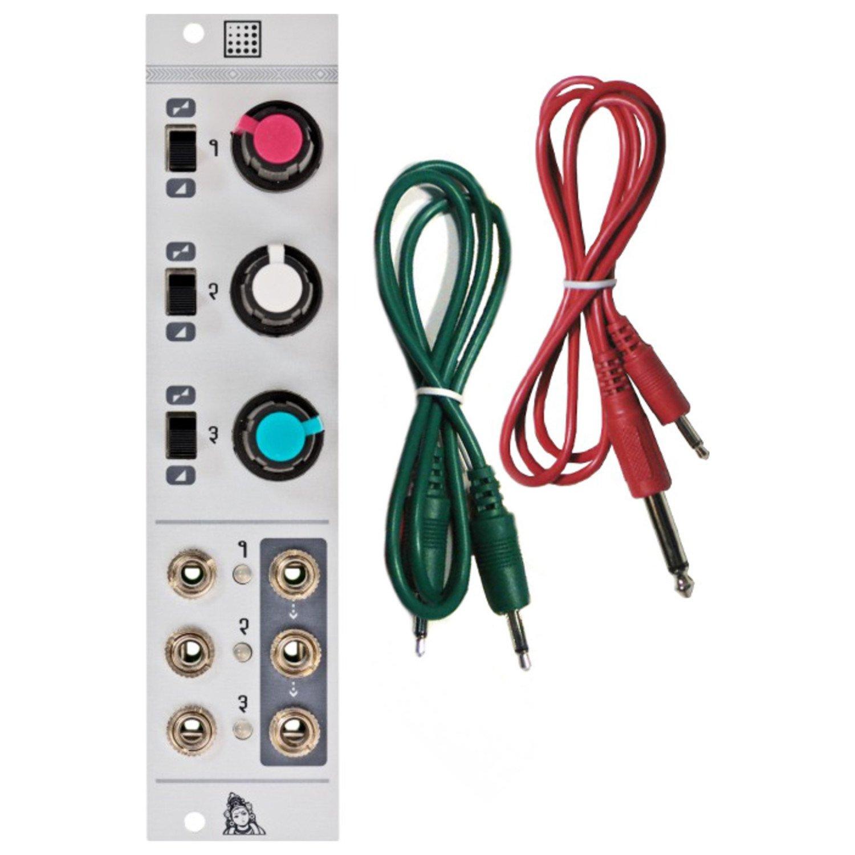 Mutable Instruments Shades Eurorack Module(Mixer, Offset, Attenuverter) w/ 2 Ca by Mutable Instruments