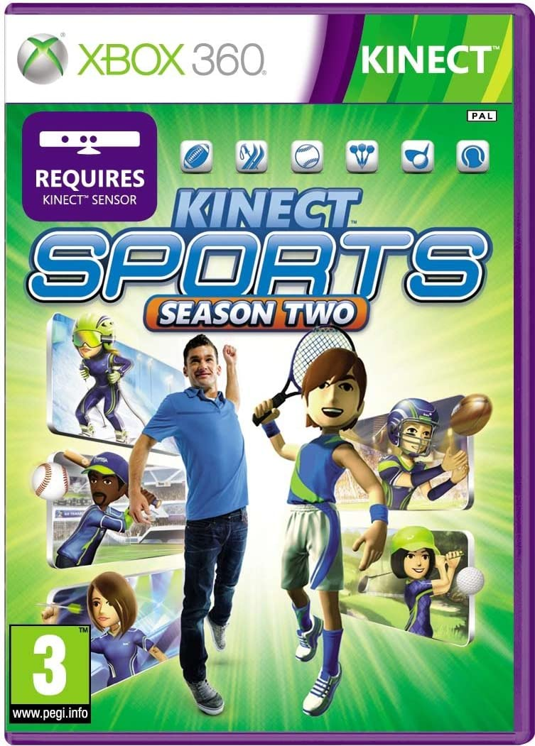 Kinect Sports: Season 2 (Xbox 360)[Importación inglesa]: Amazon.es: Videojuegos