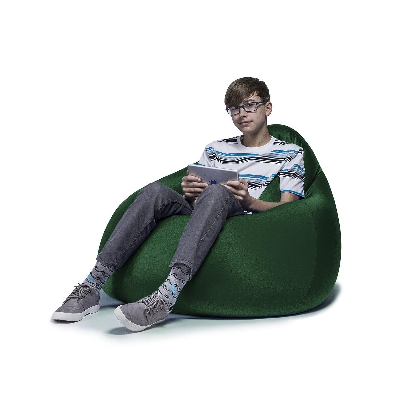 Amazon Jaxx Nimbus Spandex Bean Bag Chair for Teens Green