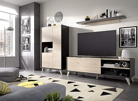 LIQUIDATODO ® - Composición de salón estilo nórdico 290 cm ...