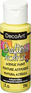 product image for DecoArt Crafter's Acrylic Paint, 2-Ounce, Daffodil Yellow