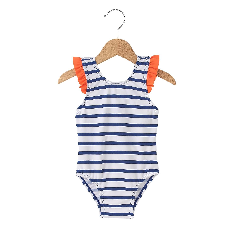 La Redoute Collections Bambina Costume Intero A Righe 1 Mese3 Anni 350049088