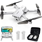 Tomzon D65 GPS Drone with Camera for Adults 4K UHD, Foldable FPV RC Quadcopter with Auto Return Home, Follow Me, Tap Fly…