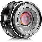 Meike 35mm F1.7 Manual Focus Prime Lens for Micro Four Thirds MFT M4/3 Olympus and Panasonic Digital Mirrorless Cameras