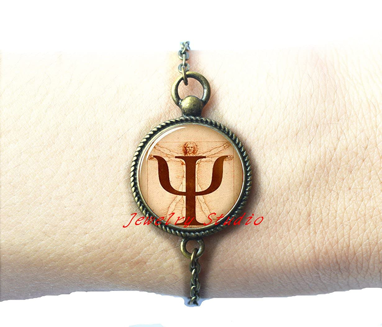 Amazon Charming Fashion Braceletpsi Symbol Bracelet