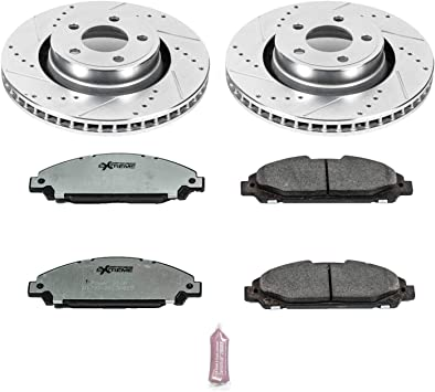 Powerstop Brake Disc and Pad Kits 2-Wheel Set Front New for Ford K6809