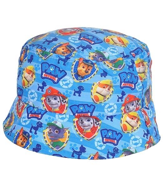 d00f8a41e8755 Paw Patrol  quot Character Shields quot  Bucket Hat - blue ...