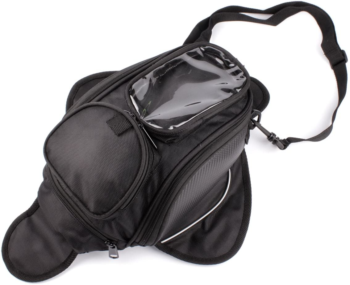 PU Leather Fuel Tank Pouch Oil Tank Bag Oil Fuel Tank Bag Cover Panel Pad Motorbike Accessory Biuzi Fuel Tank Bag