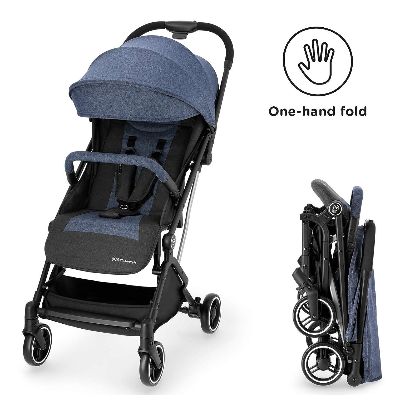 Kinderkraft INDY Azul Silla Paseo Beb/é Hasta 15 kg Plegable Impermeable