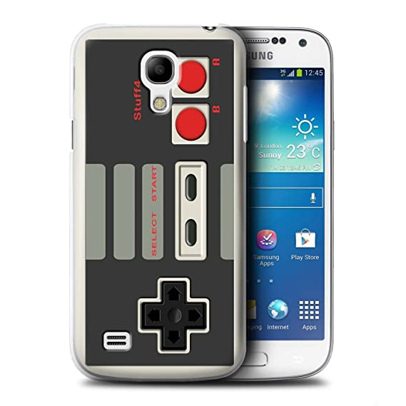 super popular 54843 c4e41 STUFF4 Phone Case / Cover for Samsung Galaxy S4 Mini / Nintendo Classic  Design / Games Console Collection