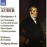 Auber:Overtures 1 [Orchestre de Cannes, Wolfgang Dörner] [Naxos: 8573553]