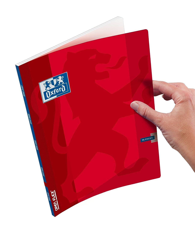 Oxford OpenFlex Cahier Sey/ès polypro 96 pages 17 x 22 cm Jaune