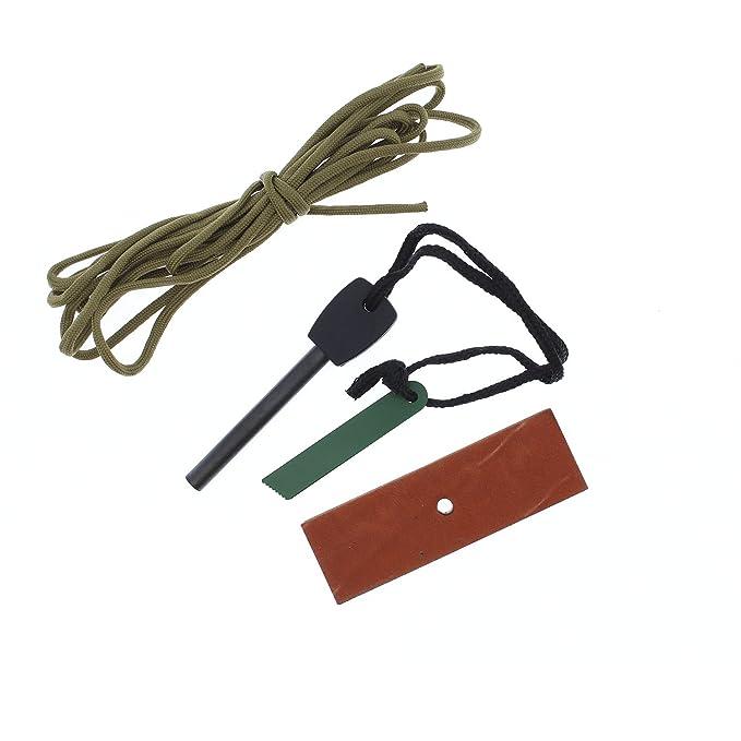 Amazon.com: Sirvival Cuchillo Cudeman Cuchilla Fijo BS9 ...