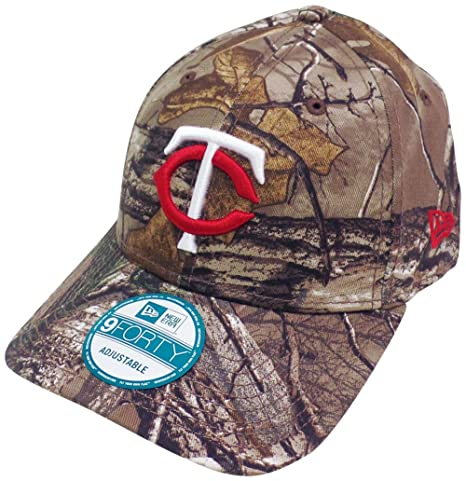new style 04cee 52f77 ... czech minnesota twins the league realtree camo 9forty adjustable hat  cap 4e077 ee7af