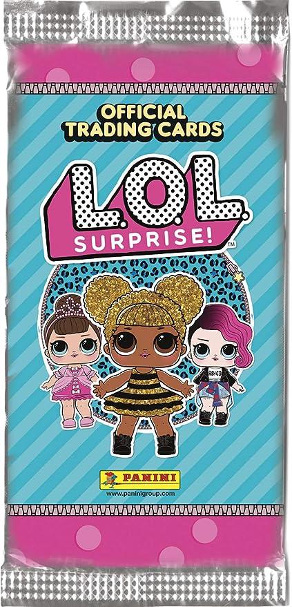 Panini LOL Surprise - Caja con 24 sobres de cartas (003678BOX24E): Amazon.es: Juguetes y juegos