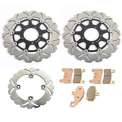 TARAZON 3x Rotor Disco de Freno Delantero y Pastillas para ...
