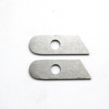 Cuchilla inferior Kunpeng (#550449), para máquinas de coser Singer 14U, Simplicity, Babylock (2 unidades): Amazon.es: Hogar