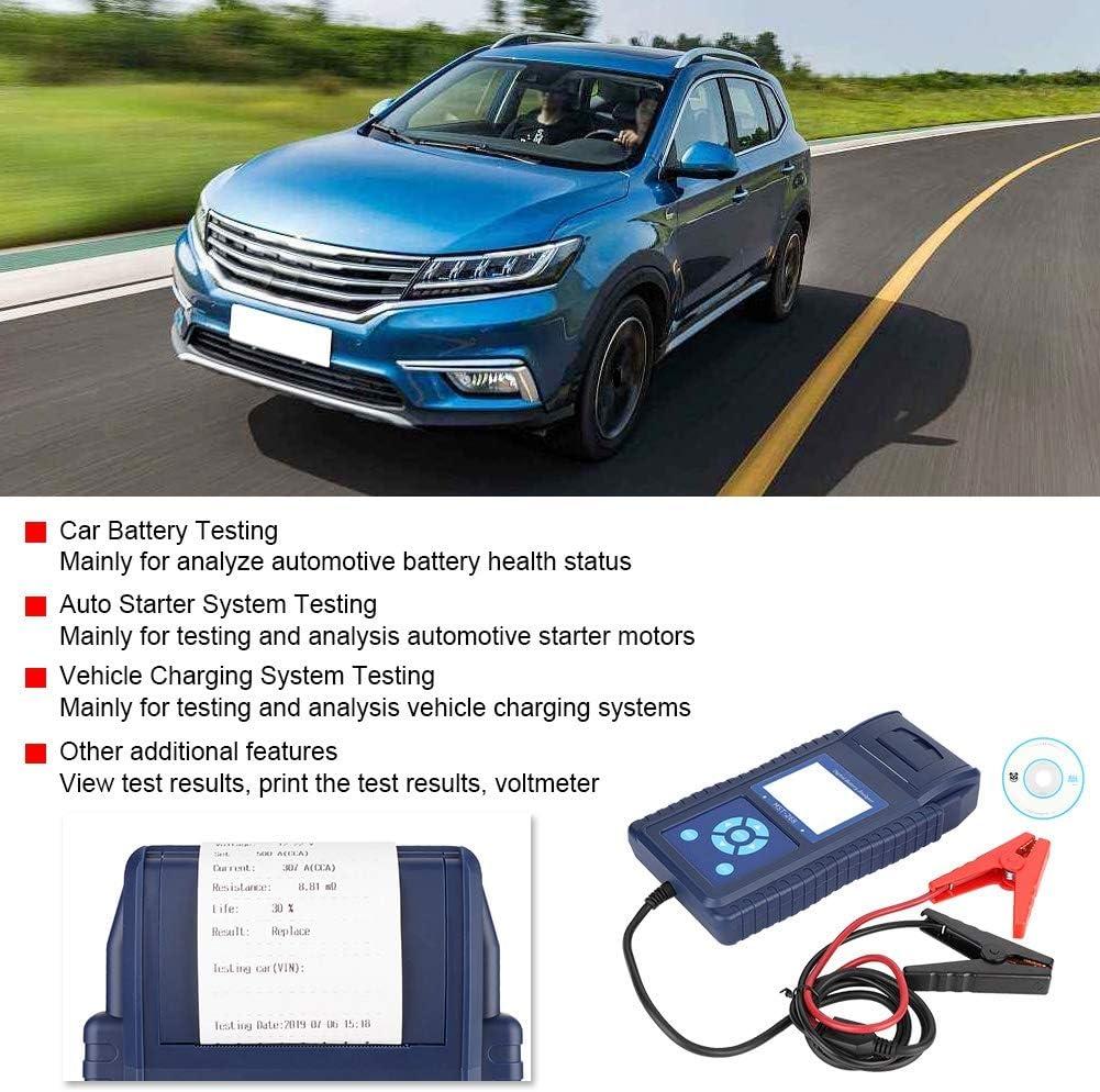 outil de test de cellule de testeur de batterie de voiture MST-268 avec testeur de puissance automobile pour imprimante Analyseur de batterie num/érique