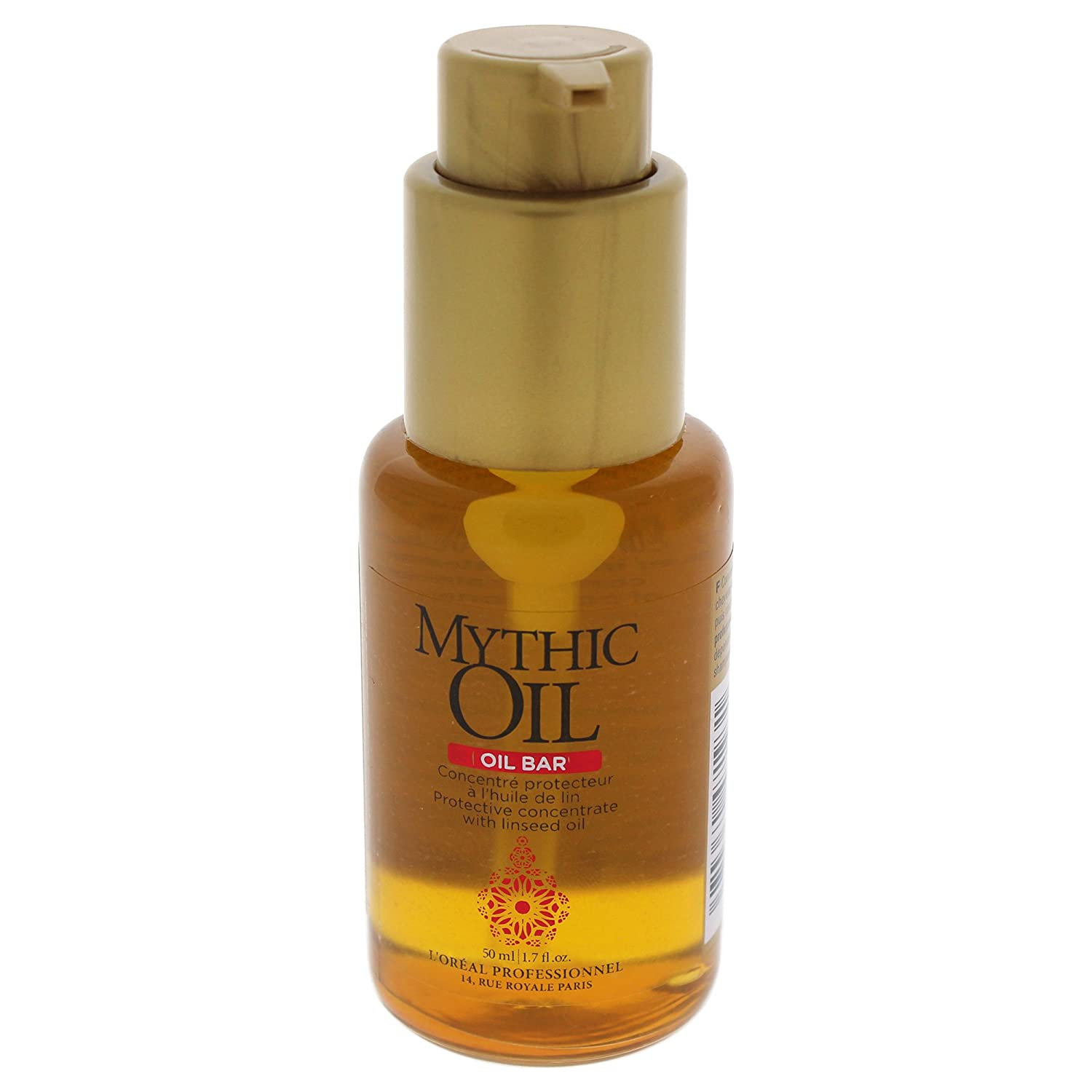 L'Oreal Professional Mythic Oil Bar Protective Concentrate With Linseed Oil, 1.7 Ounce