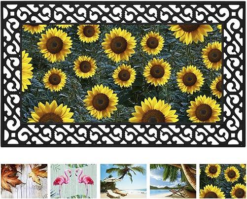 Toland Home Garden Autumn Glow 18 x 30 Inch Decorative Fall Floor Mat Dragonfly Doormat