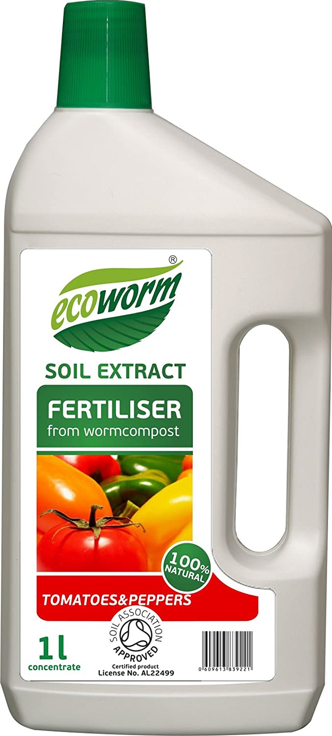 Ecoworm 1L Soil Extract for Tomatoes/Peppers Ecoworm Limited