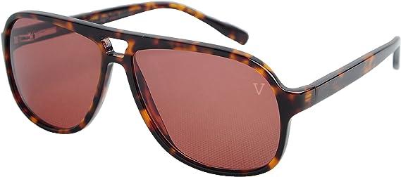 Platinum Vintage Sunglasses Gradient Unique Square Frame Grey Men