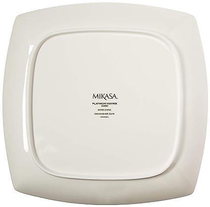 Mikasa Platinum Matrix 12-Inch Square Platter AN060513