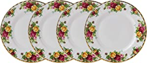 "Royal Albert Old Country Roses Salad Plate 8"" Set/4"