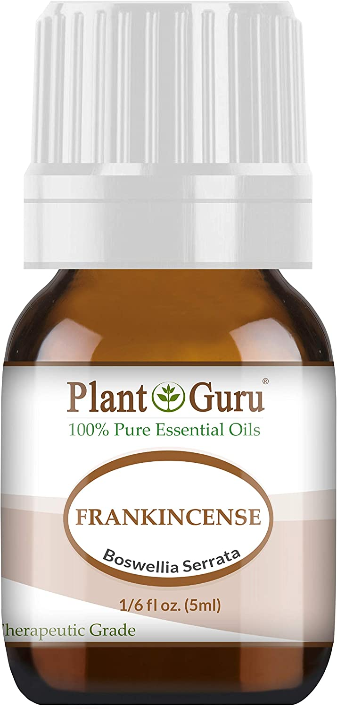 Frankincense Essential Oil 5 ml Extract of Boswellia Serrata 100% Pure Undiluted Therapeutic Grade.