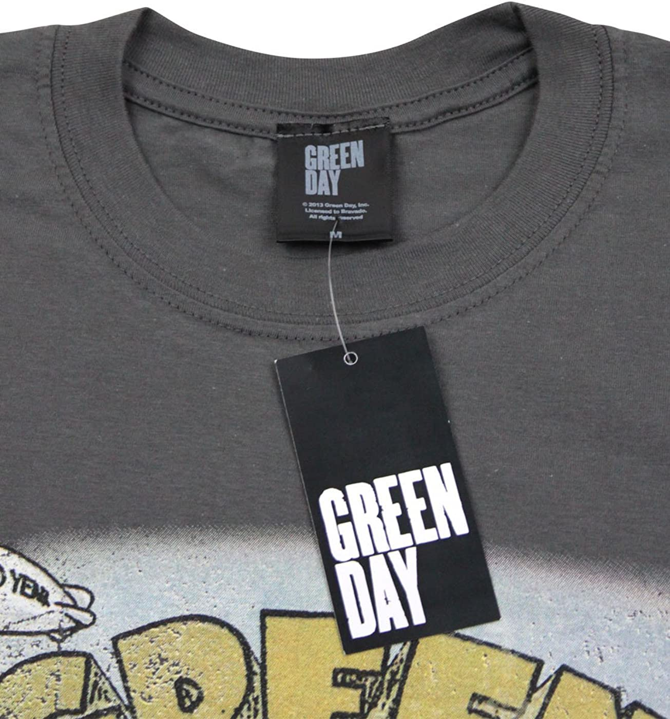 Official Green Day Dookie Mens T-Shirt