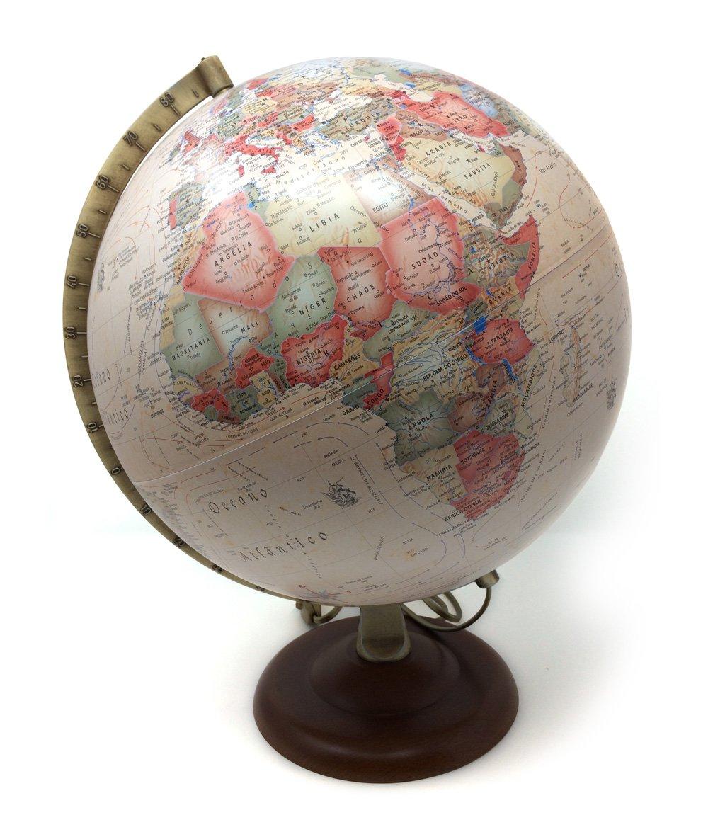 Atmosphere – Folienballon A4, 30 cm, Sepia (mapiberia 97826)