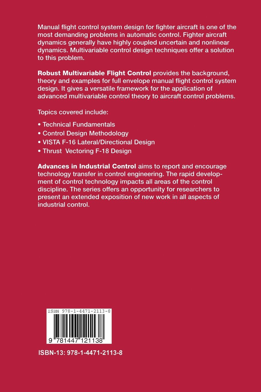Robust Multivariable Flight Control (Advances in Industrial Control):  Amazon.co.uk: Richard J. Adams: 9781447121138: Books