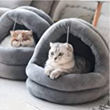 Tempcore Cat Bed for Indoor Cats, Machine Washable Cat Beds, Cat Beds for Indoor Cats or Small Dogs, Puppy, Kitty…