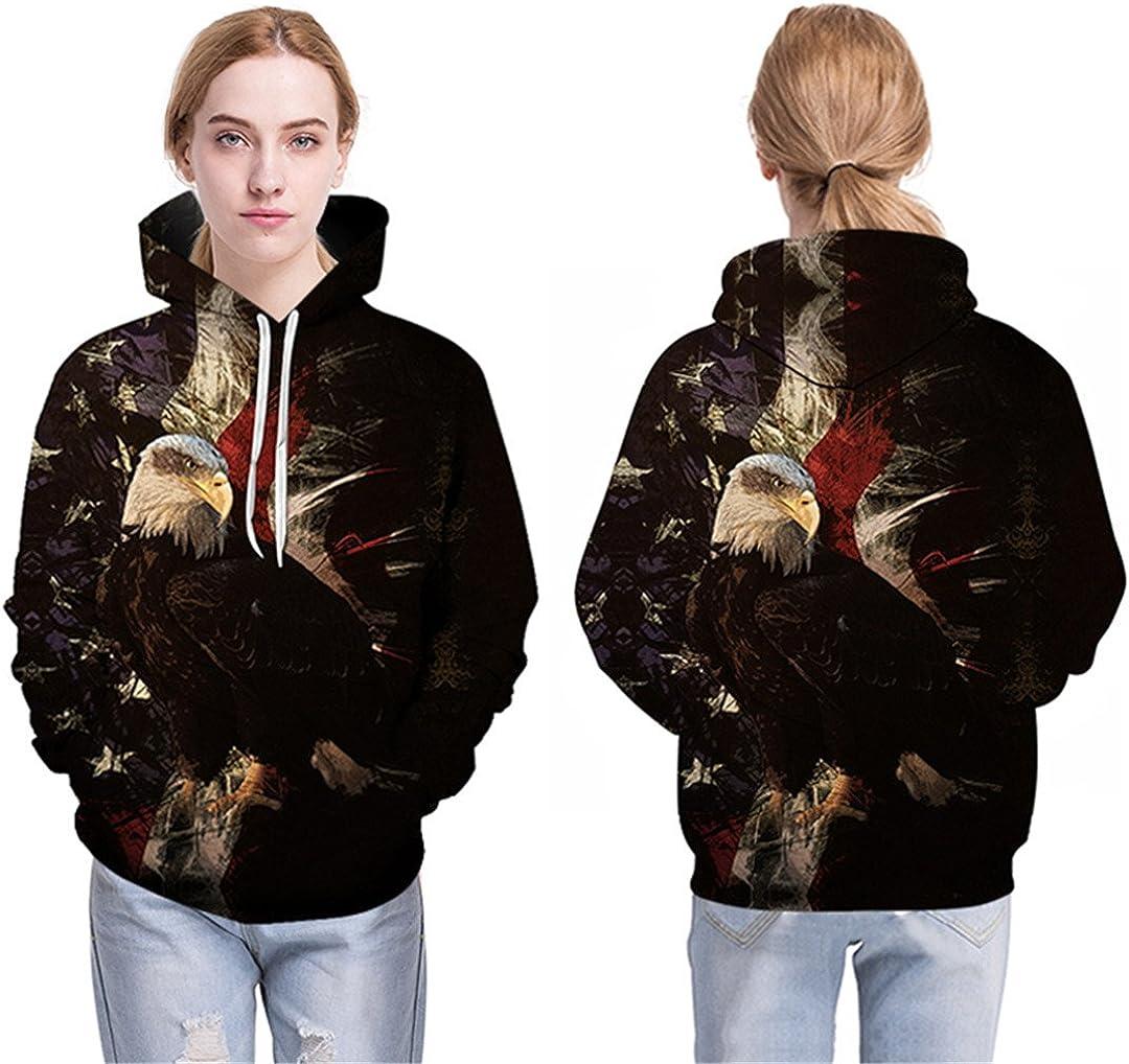 Man//Female 3D Eagle Hoodie Designs 3D Sweatshirt Hoodie