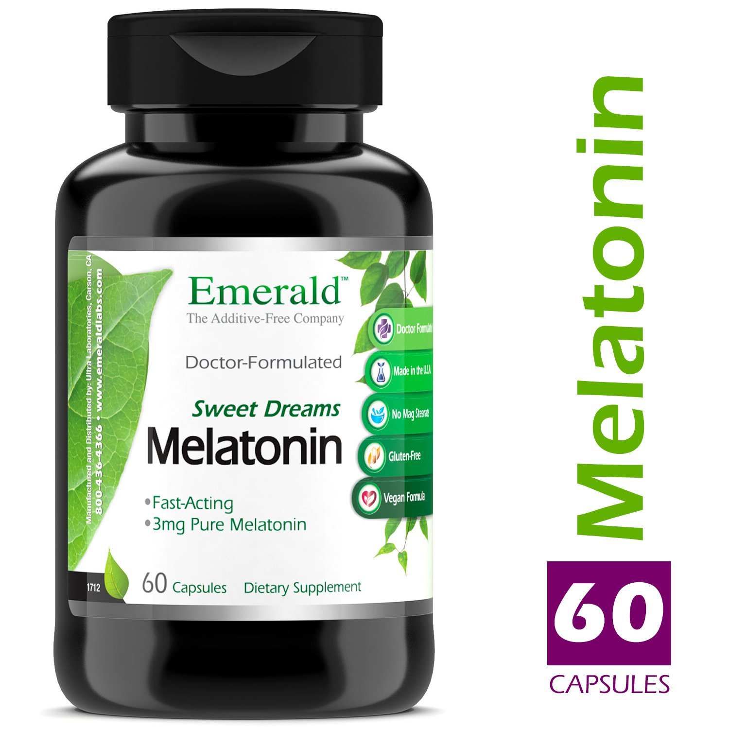 Amazon.com: Time Release Melatonin (3 mg) - Promotes Relaxation ...